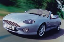 Aston Martin DB7 отпред
