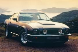 Aston Martin V8 Vantage отпред