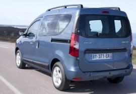 Dacia Dokker отзад
