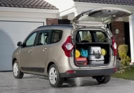 Dacia Lodgy поглед в багажника