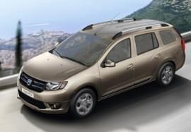 Dacia Logan отгоре