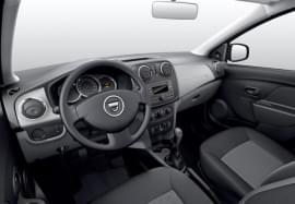 Dacia Sandero отвътре