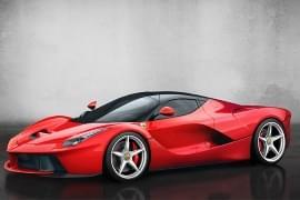 Ferrari LaFerrari von vorn