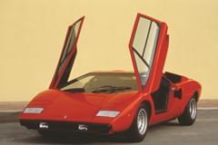 Lamborghini Countach отгоре