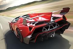Lamborghini Veneno отзад