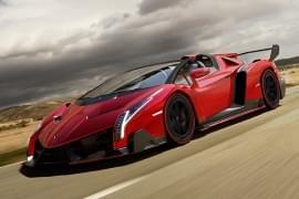 Lamborghini Veneno отстрани