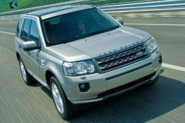 Land Rover Freelander von vorn