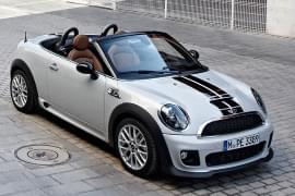 Mini Roadster von vorn