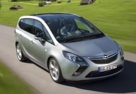 Opel Zafira отпред