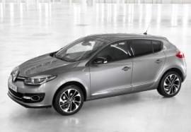 Renault Megane изглед отстрани
