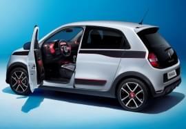 Renault Twingo с отворена врата