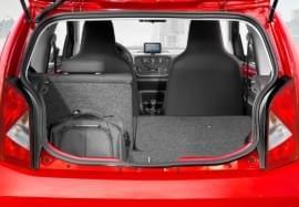 Поглед в багажника на Seat Mii