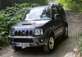 Suzuki Jimny Vorderansicht