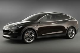 Tesla Model X отпред