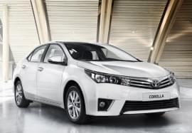 Toyota Corolla изглед отпред