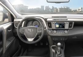 Toyota RAV4 от вътре